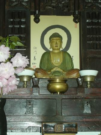 L'Altare della Sala del Buddha
