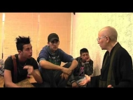 Incontro con gli studenti al Centro Zen Anshin