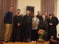 Con la Rev. Teijo Munnich, erede del Dharma di Dainin katagiri Roshi, fondatrice e insegnante del Great Tree Zen Temple e grande amica di Shohaku Okumura Roshi
