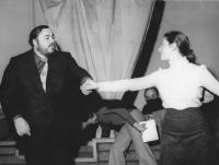 Annamaria Epifania e Luciano Pavarotti Teatro Comunale di Bologna 1975