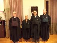 Visita del Rev. Shoki Kamada e del Rev. Togen Moss,  dell'Ufficio Europeo del Buddhismo Zen Soto