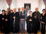 Rev. Jiso Forzani e Rev. Ejo Matsuda - Visita ufficiale della Soto Shu al Centro Zen Anshin